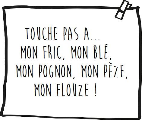 PANCARTE_PINCE_NOIRE touche pas