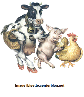 vache-cocon-et-poule